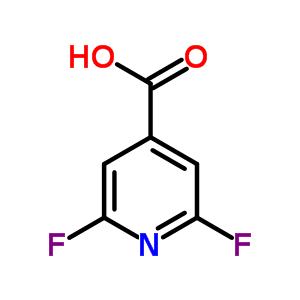 88912-23-6 2,6-difluoropyridine-4-carboxylic acid