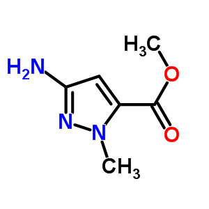 89088-56-2 methyl 3-amino-1-methyl-1H-pyrazole-5-carboxylate