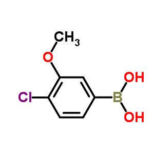 89694-47-3 (4-Chloro-3-methoxyphenyl)boronic acid