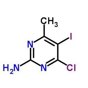 2-氨基-4-氯-5-碘-6-甲基嘧啶 897030-99-8