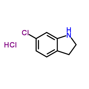 89978-84-7 6-chloro-2,3-dihydro-1H-indole hydrochloride