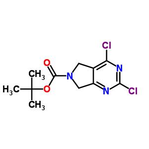 903129-71-5 tert-butyl 2,4-dichloro-5,7-dihydro-6H-pyrrolo[3,4-d]pyrimidine-6-carboxylate