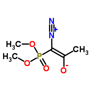 90965-06-3 (1Z)-1-diazonio-1-(dimethoxyphosphoryl)prop-1-en-2-olate