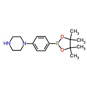 912369-50-7 1-[4-(4,4,5,5-tetramethyl-1,3,2-dioxaborolan-2-yl)phenyl]piperazine