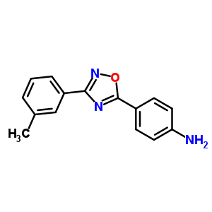 915922-90-6 4-[3-(3-methylphenyl)-1,2,4-oxadiazol-5-yl]aniline