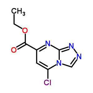 5-氯-[1,2,4]三唑并[4,3-A]嘧啶-7-甲酸乙酯 916325-84-3