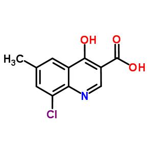 927800-99-5 8-chloro-4-hydroxy-6-methylquinoline-3-carboxylic acid