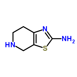 4,5,6,7-四氢噻唑[5,4-C]吡啶-2-胺 97817-23-7