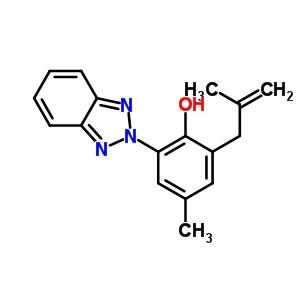 2-(2H-benzotriazol-2-yl)-4-methyl-6-(2-methylprop-2-en-1-yl)phenol 98809-58-6