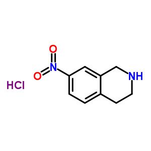 99365-69-2 7-nitro-1,2,3,4-tetrahydroisoquinoline hydrochloride (1:1)