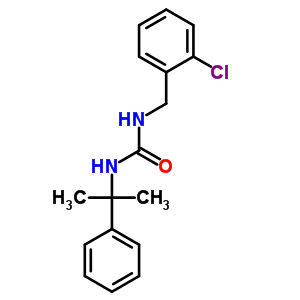 99485-76-4 1-(2-chlorobenzyl)-3-(1-methyl-1-phenylethyl)urea