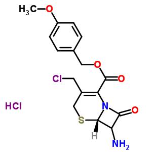 7-AMINO-3-CHLOROMETHYL-3-CEPHEM-4-CARBOXYLIC ACID P-METHOXYBENZYL ESTER, HYDROCHLORIDE 113479-65-5;115369-44-3