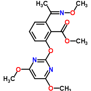 136191-64-5 methyl 2-[(4,6-dimethoxypyrimidin-2-yl)oxy]-6-(N-methoxyethanimidoyl)benzoate