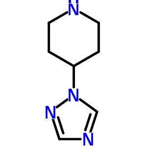 158655-26-6 4-(1H-1,2,4-triazol-1-yl)piperidine