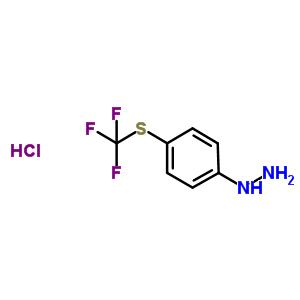 162258-86-8 Hydrazine, [4-[(trifluoromethyl)thio]phenyl]-, hydrochloride (1:1)