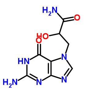 163734-06-3 3-(2-amino-6-oxo-1H-purin-7-yl)-2-hydroxy-propanamide