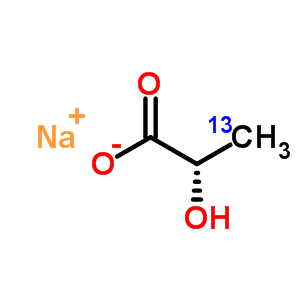 201595-70-2 sodium (2S)-2-hydroxy(3-~13~C)propanoate