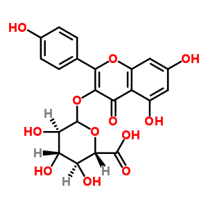 山奈酚葡萄糖醛酸苷 22688-78-4