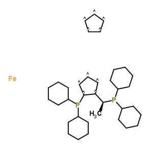 (S)-1-[(RP)-2-(二环己基)二茂铁]乙基二环己基膦 246231-77-6