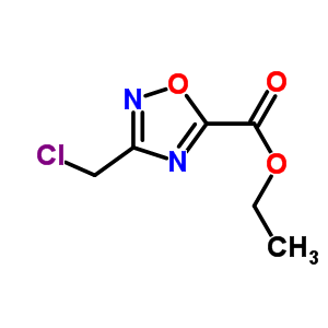 25977-19-9 ethyl 3-(chloromethyl)-1,2,4-oxadiazole-5-carboxylate