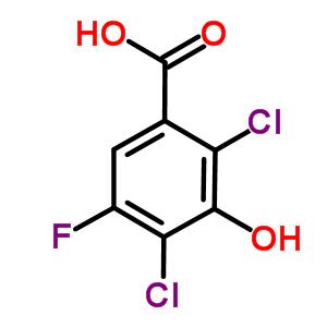 290835-84-6 2,4-dichloro-5-fluoro-3-hydroxy-benzoic acid