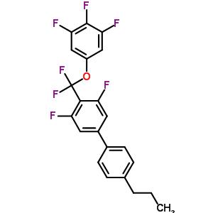 3,5-二氟-4'-丙基-4-((3,4,5-三氟苯氧基)二氟甲基)联苯 303186-20-1