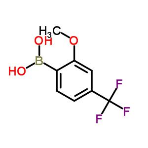 2-甲氧基-4-(三氟甲基)苯基硼酸 312936-89-3