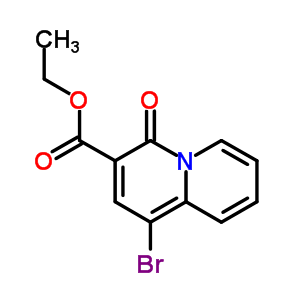 337909-11-2 ethyl 1-bromo-4-oxo-4H-quinolizine-3-carboxylate
