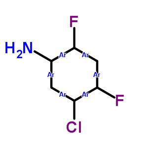 348-65-2;870606-45-4 Benzenamine, 5-chloro-2,4-difluoro-
