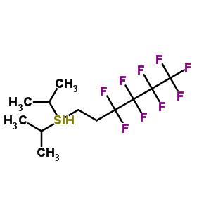 356056-13-8 bis(1-methylethyl)(3,3,4,4,5,5,6,6,6-nonafluorohexyl)silane