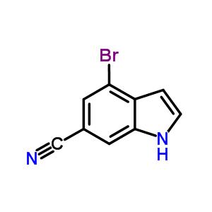 374633-29-1 4-Bromo-1H-indole-6-carbonitrile