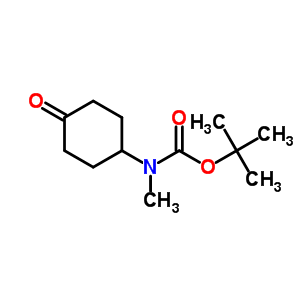 400899-84-5 Carbamic acid, N-methyl-N-(4-oxocyclohexyl)-, 1,1-dimethylethyl ester