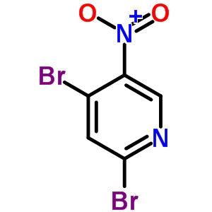 2,4-二溴-5-硝基吡啶 4487-57-4