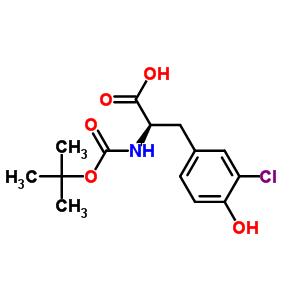 Boc-D-3-氯酪氨酸 478183-57-2