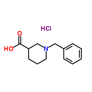 50585-92-7 1-benzylpiperidine-3-carboxylic acid hydrochloride