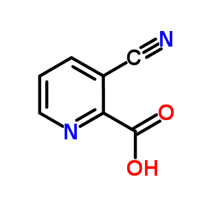 3-氰基吡啶-2-甲酸 53940-10-6