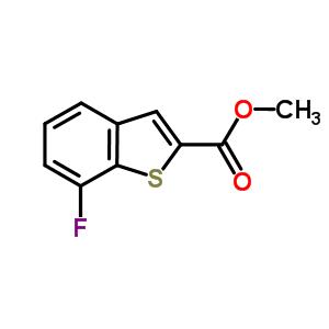 550998-54-4 methyl 7-fluoro-1-benzothiophene-2-carboxylate
