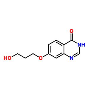 557770-89-5 7-(3-hydroxypropoxy)quinazolin-4(3H)-one