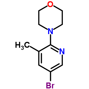 566158-47-2 4-(5-bromo-3-methyl-2-pyridyl)morpholine