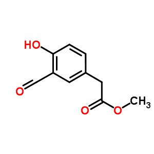 61874-04-2 methyl 2-(3-formyl-4-hydroxy-phenyl)acetate