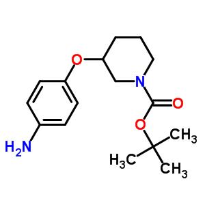 1-Boc-3-(4-氨基苯氧基)哌啶 643087-95-0