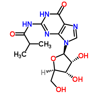 64350-24-9 N-(2-methylpropanoyl)guanosine