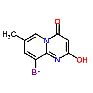 663619-90-7 9-bromo-2-hydroxy-7-methyl-4H-pyrido[1,2-a]pyrimidin-4-one