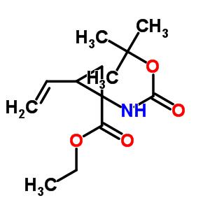 681807-59-0 ethyl 1-[(tert-butoxycarbonyl)amino]-2-ethenylcyclopropanecarboxylate