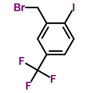 702641-06-3 2-(Bromomethyl)-1-iodo-4-(trifluoromethyl)benzene