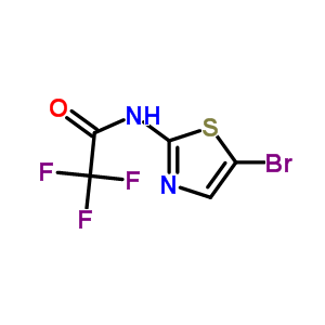 745053-65-0 N-(5-bromo-1,3-thiazol-2-yl)-2,2,2-trifluoroacetamide