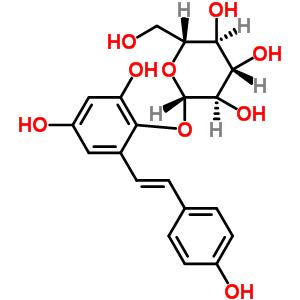 82373-94-2 (2S,3R,4S,5S,6R)-2-[2,4-dihydroxy-6-[(E)-2-(4-hydroxyphenyl)vinyl]phenoxy]-6-(hydroxymethyl)tetrahydropyran-3,4,5-triol