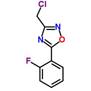 844499-00-9 3-(chloromethyl)-5-(2-fluorophenyl)-1,2,4-oxadiazole