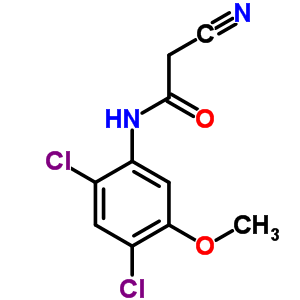 2-氰基-N-(2,4-二氯-5-甲氧苯基)乙酰胺 846023-24-3