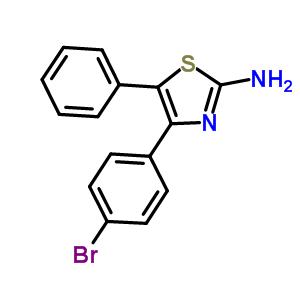 848590-32-9 4-(4-bromophenyl)-5-phenyl-1,3-thiazol-2-amine